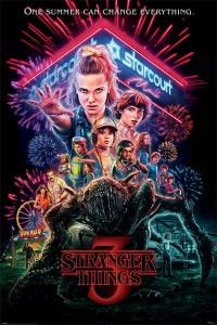 Plakat Maxi Summer of 85 - Stranger Things