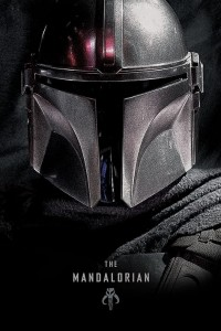 Plakat Maxi The Mandalorian Hełm  - Star Wars