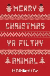 Plakat Maxi Merry Christmas Ya Filthy Animal Jumper - Home Alone