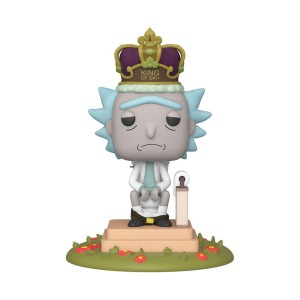 Figurka Funko POP! Rick on Toilet - Rick and Morty