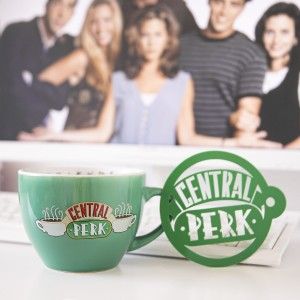 Kubek Cappuccino Central Perk Green - Friends