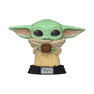 Figurka Funko POP! The Child (Baby Yoda) z kubkiem - Mandalorian