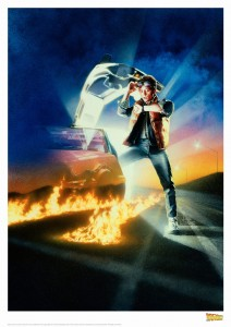 Art Print Limitowany Marty McFly - Back to the future