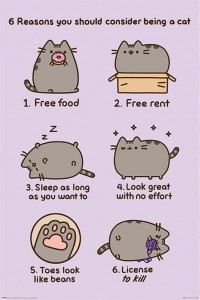 Plakat Maxi Reasons to be a Cat - Pusheen