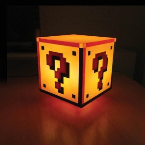 Lampka Question Block - Super Mario